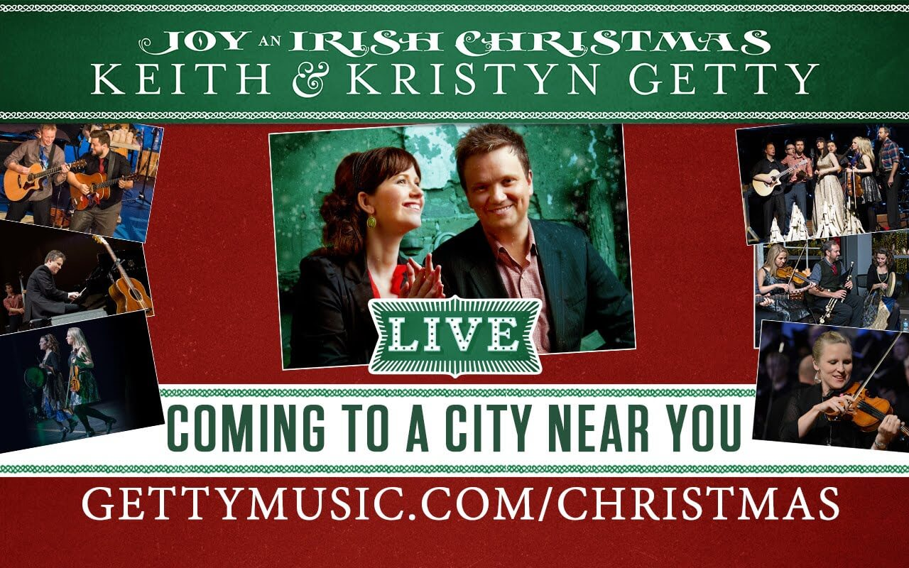 Keith & Kristyn Getty - Joy- An Irish Christmas LIVE - Album Review √